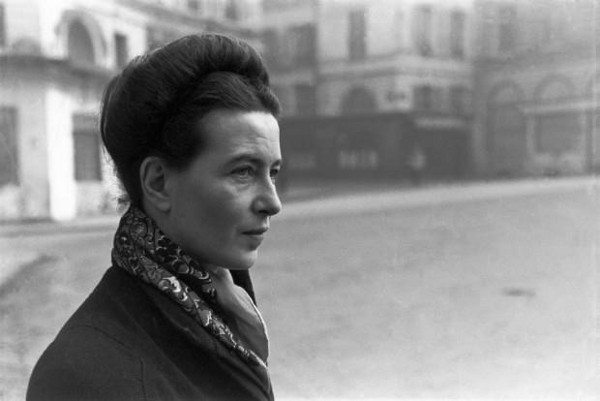 Foto: facebook.com/Simone de Beauvoir