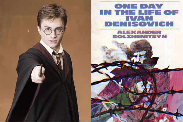 Foto: facebook.com/pages/Harry-Potter-character; en.wikipedia.org/wiki/File:One_Day_in_the_Life_of_Ivan_Denisovich
