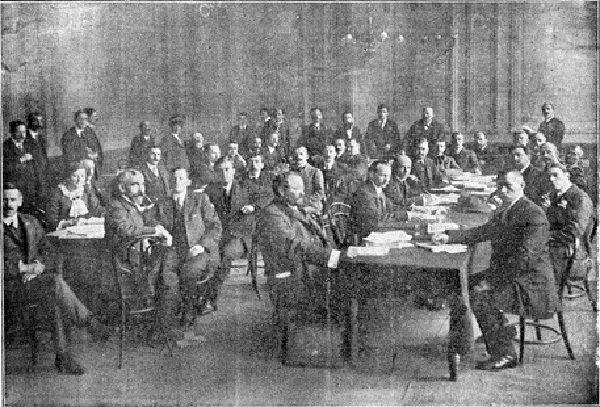Foto: wikipedia.comPrvi internacionalni kongres sindikata, London 1913.
