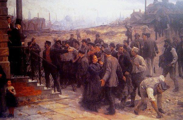 Foto: S.B.B / Kada, gdje, zašto, i kakoNjemački radnici 1880. godine od vlasnika traže veće dnevnice