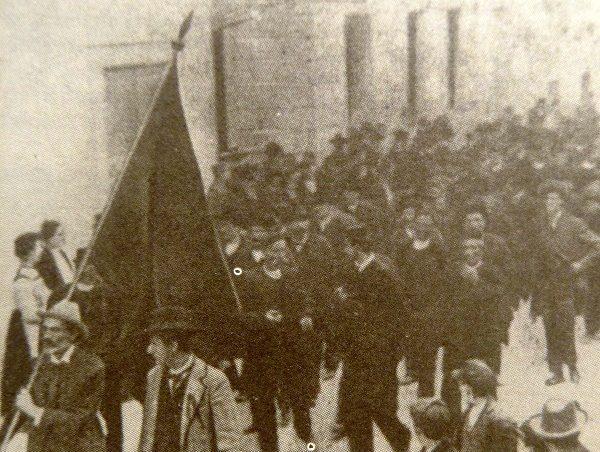 Foto: S.B.B / eniklopedija Leksikografskog zavodaPrvomajska demonstracija u Splitu, 1905.
