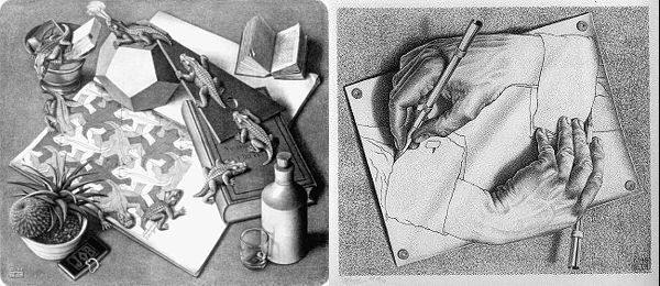 Foto: wikimedia.org, M. C. Escher/ wikimedia.org, M. C. Escher