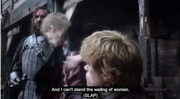 FOTO:youtube.com-screenshot/tyrion i joffrey