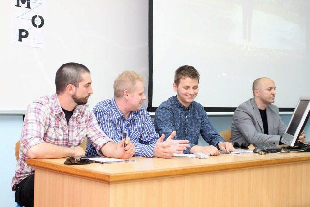 Foto: Press konferencija , J. Mrazović