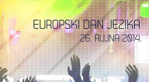 Foto: facebook.com/Europski dan jezika 26. rujna 2014.