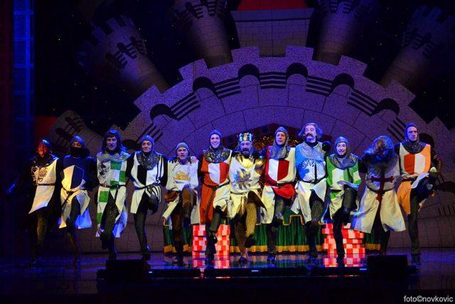 Foto: www.komedija.hr / Monty Python's Spamalot