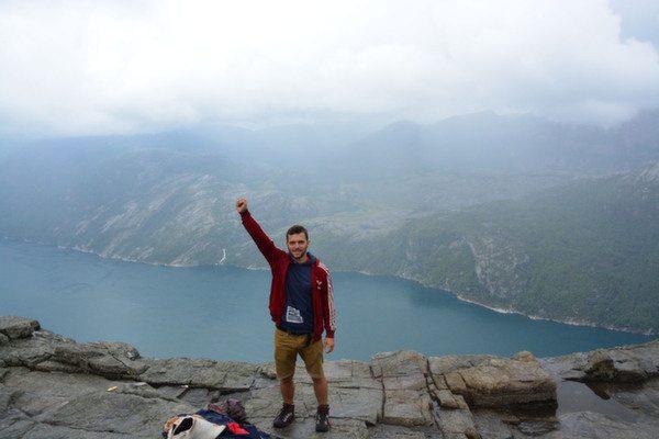Na vrhu Preikestolena, Norveška / Foto: Fabegdojden