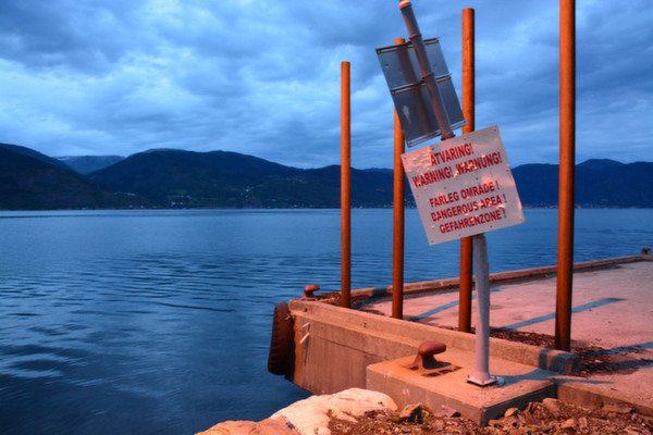 Danger zone / Foto: Fabegdojden