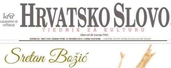foto: facebook.com/pages/Hrvatsko-slovo/