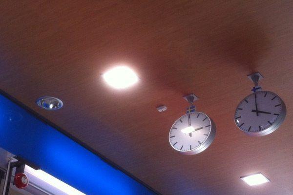 između dvije vremenske zone / Foto: Fabegdojden
