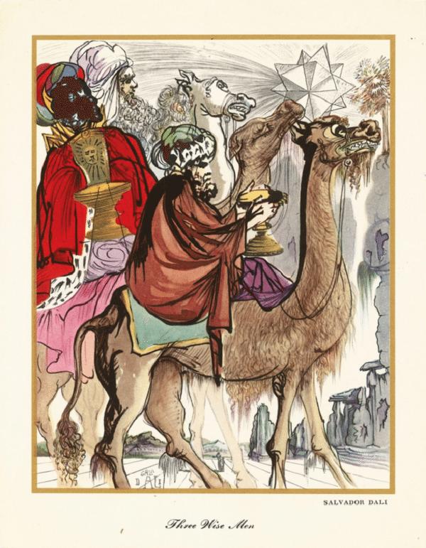 kratke čestitke za božić Nadrealistične božićne čestitke Salvadora Dalija   Ziher.hr kratke čestitke za božić