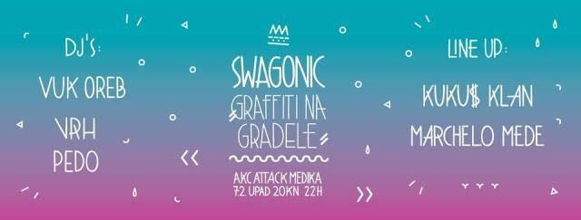 Foto: Graffiti na Gradele