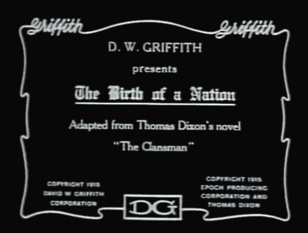 Foto: wikipedia.org/d.w.griffith, birth of a nation