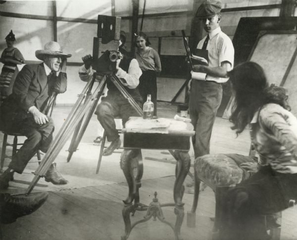 Foto: wikipedia.org/d.w.griffith, filming intolerance
