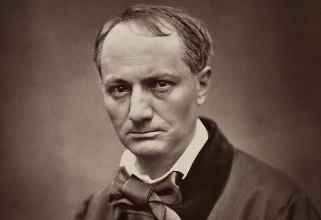 Étienne Carjat - portret Baudelairea