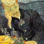 9.	Vincent van Gogh – Portrait of Dr. Gachet, (1890.)