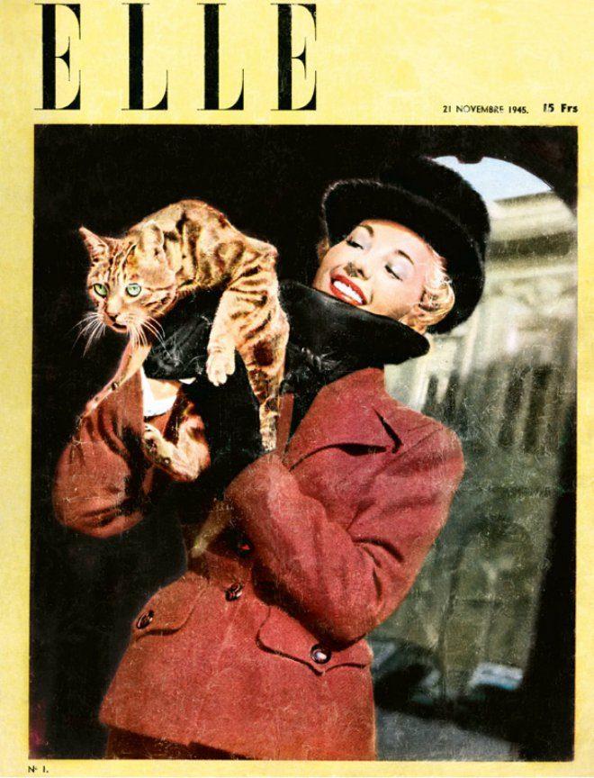 Foto: Facebook event [Prvi broj francuskog časopisa Elle, 1945.]