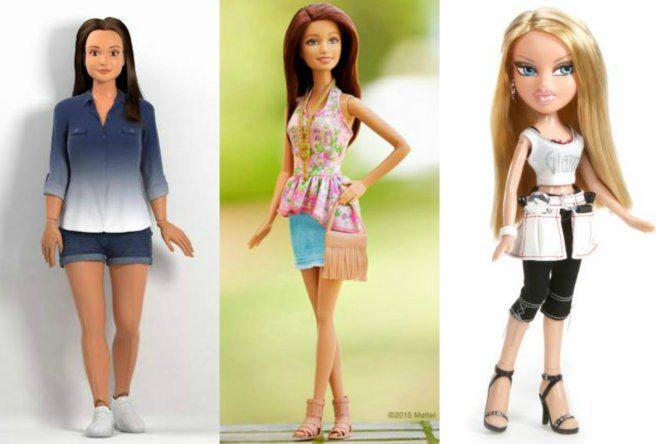 Foto: facebook.com/OfficialLammily, facebook.com/barbie, facebook.com/bratz
