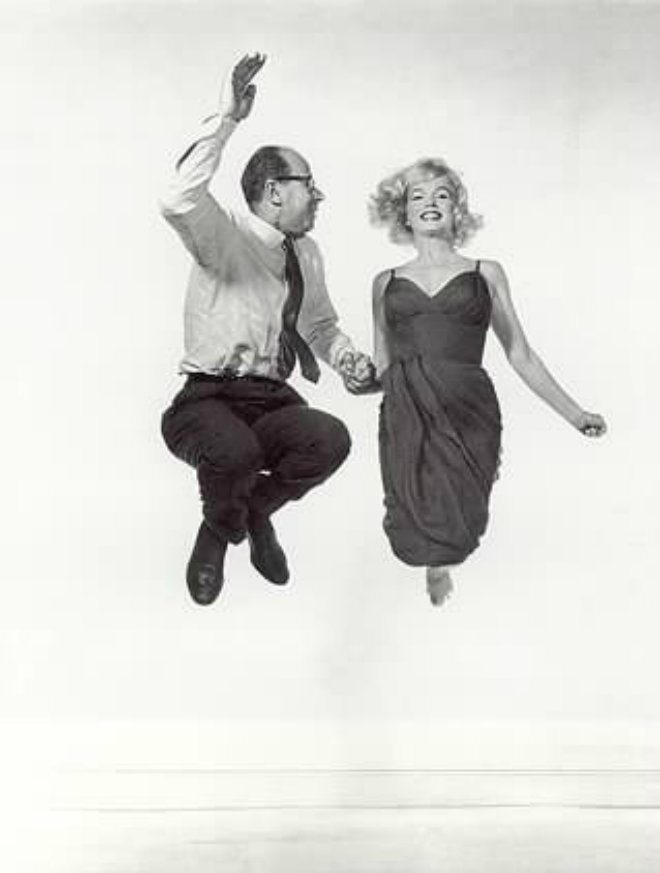 Foto: facebook.com/Philippe-Halsman [Halsman i Marilyn Monroe]