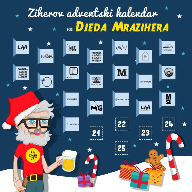 advent 20 mraziher