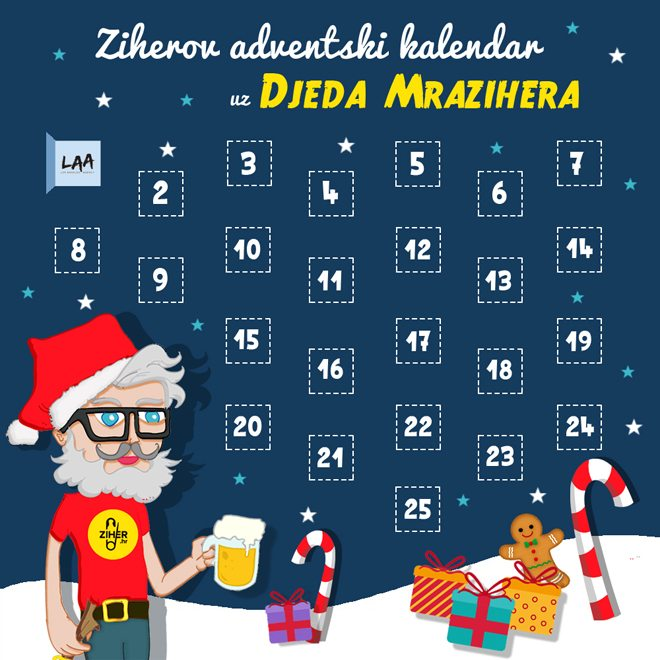 mraziher advent kalendar draft