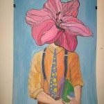 "Foto: Nikolina Radenić [Petra Šabić, ""From My Rotten Body Flowers Shall Grow And I'm in Them And That's Eternity""]"