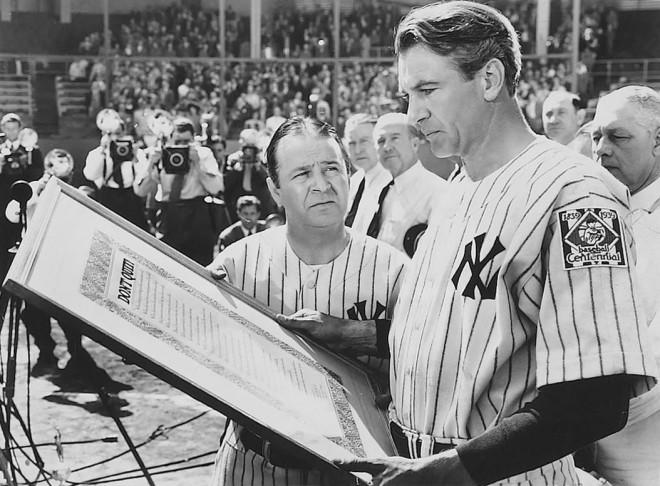 Foto: Pride of the Yankees - screenshot