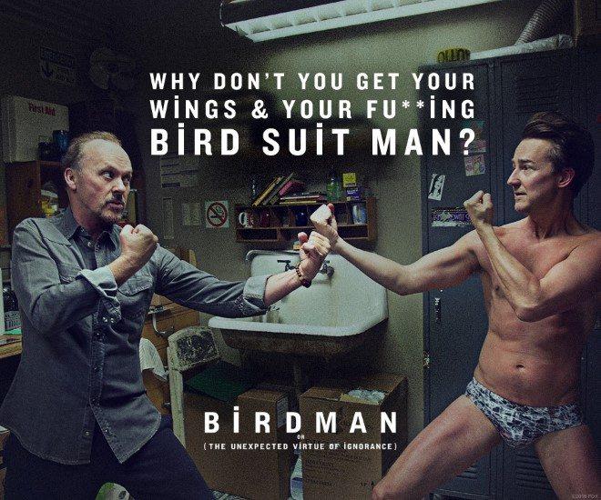 Foto: facebook.com/BirdmanMovie