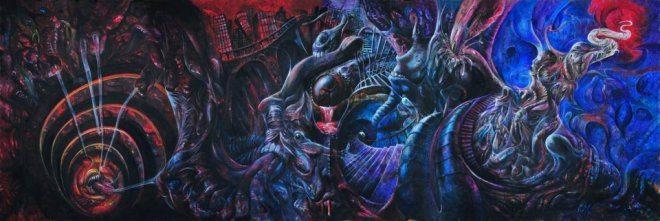 """Foto: [album """"Kosmonument""""] facebook.com/Oranssi-pazuzu-58437793552"""