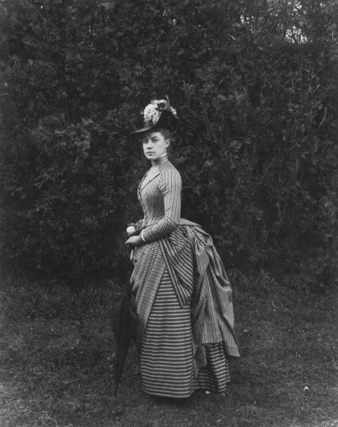 "Foto: pinterest.com/manya623 [Oswald Müller, ""Elizabeth Alice Austen"" (lipanj 1888.)]"