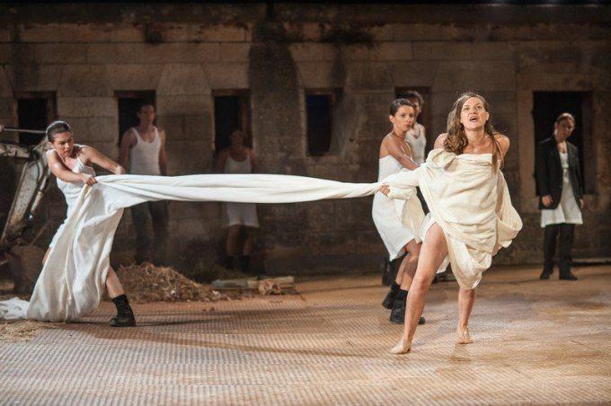 [Antigona - 2000 godina kasnije]  Foto: www.theatrefestival-rijeka.hr