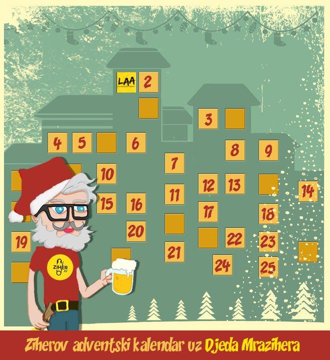 advent kalendar 1