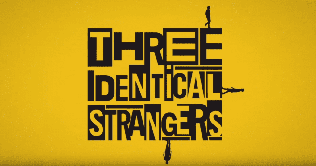tri identicna stranca