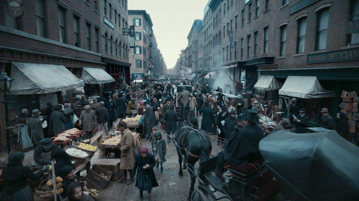 život na ulicama New Yorka 1886.