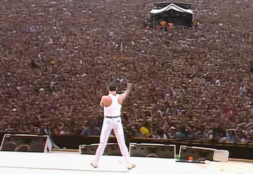 Freddie Mercury Band Aid
