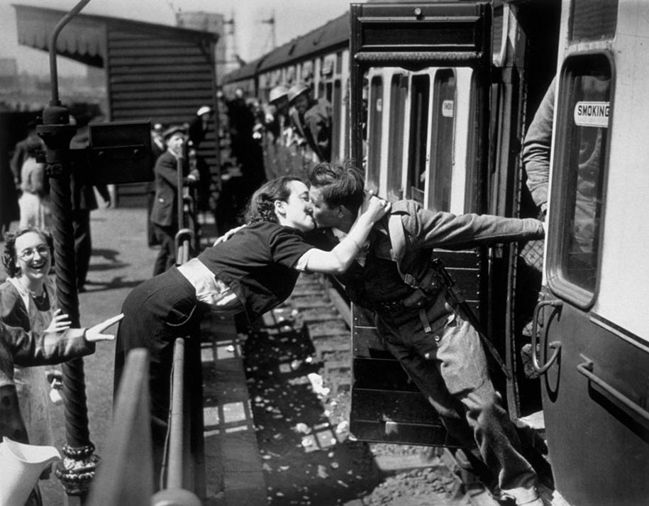 Drugi svjetski rat poljubac